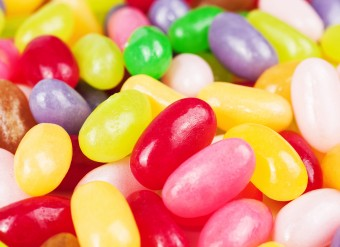 sweet color candy.  many different color candies, background